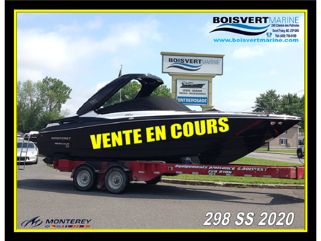 2020 Monterey boat for sale, model of the boat is 298 Ss & Image # 1 of 23
