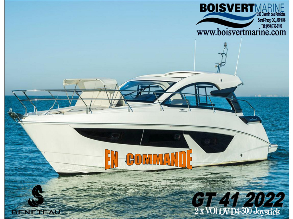 2022 Beneteau boat for sale, model of the boat is Gran Turismo 41 & Image # 1 of 7
