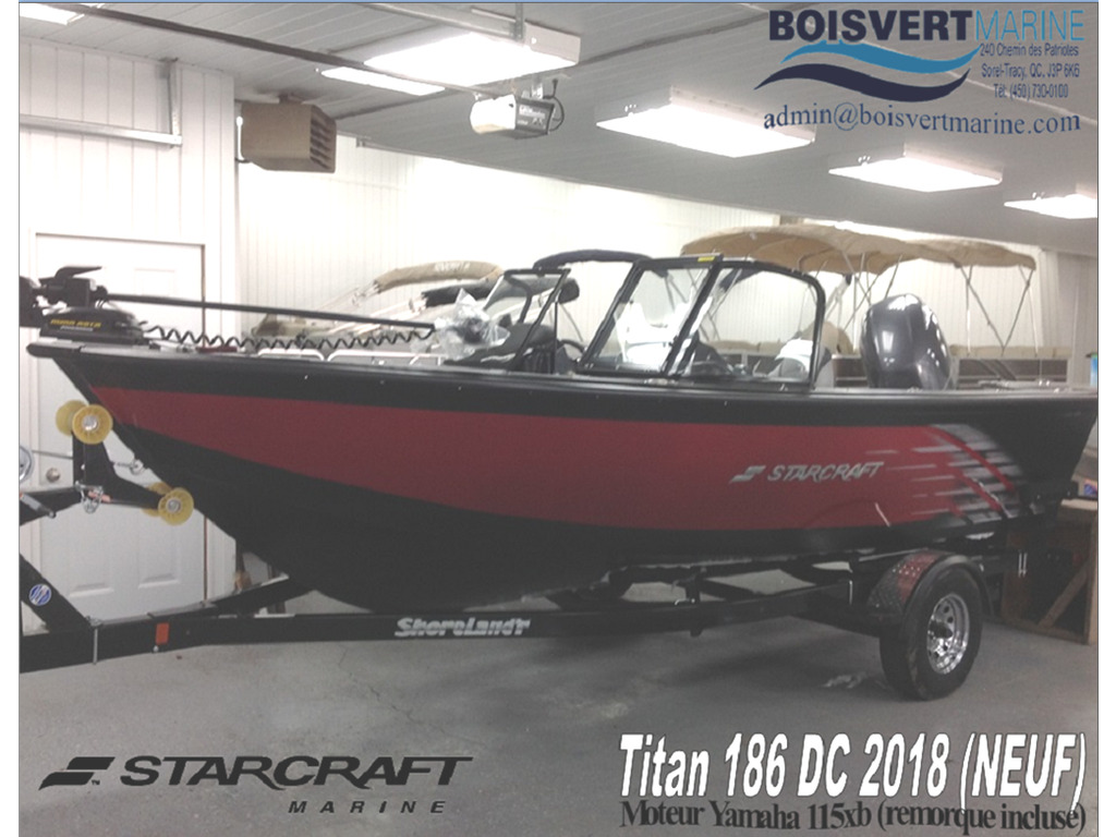 2018 Starcraft boat for sale, model of the boat is Titan 186 Dc & Image # 1 of 14
