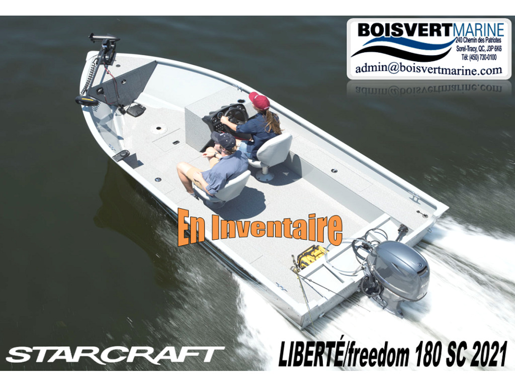 2021 Starcraft boat for sale, model of the boat is LibertÉ/freedom 180 Sc  & Image # 1 of 7