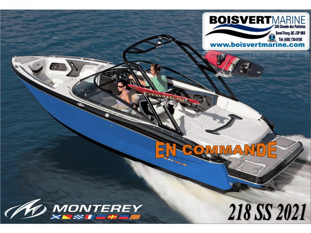 2021 Monterey boat for sale, model of the boat is 218 Ss & Image # 1 of 4