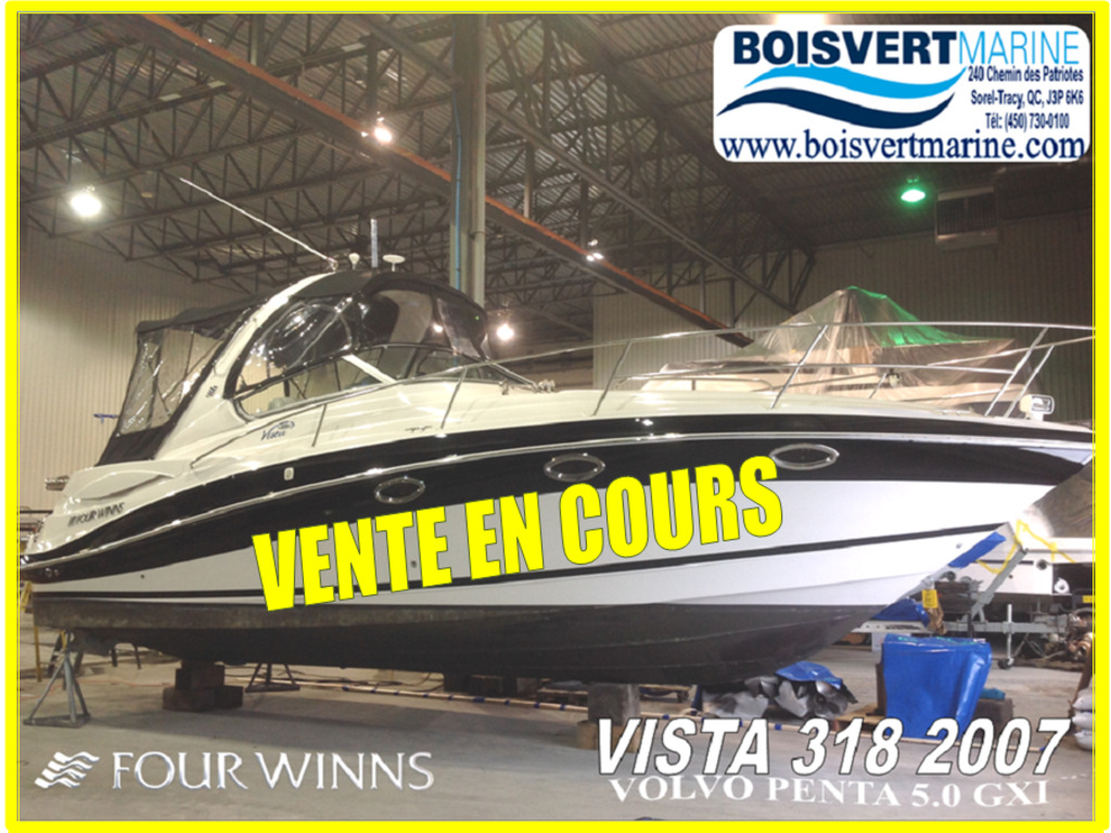 2007 Four Winns boat for sale, model of the boat is Vista 318  & Image # 1 of 14