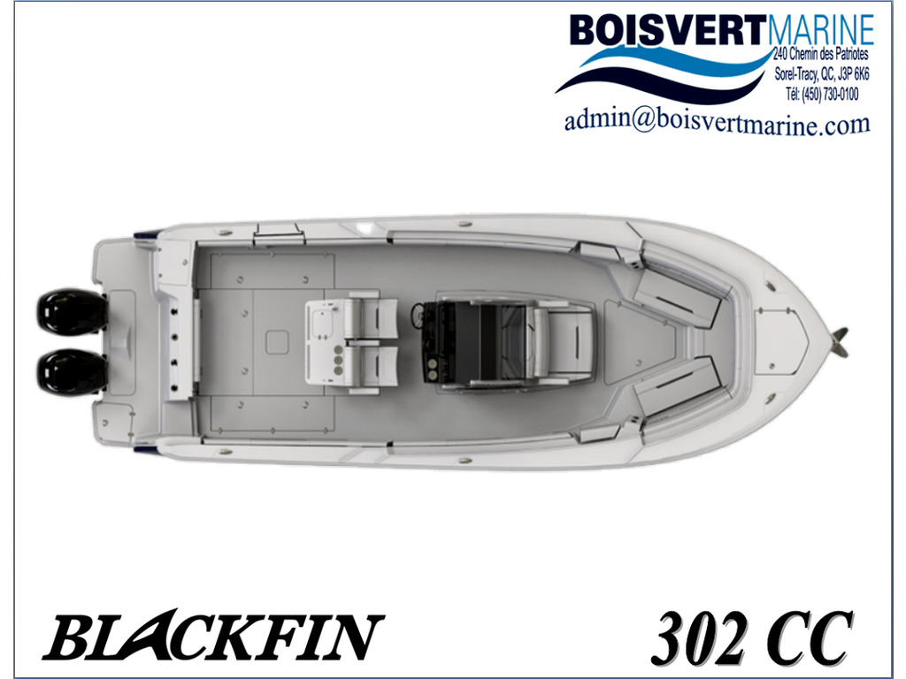 2021 Blackfin boat for sale, model of the boat is 302 Cc & Image # 2 of 12