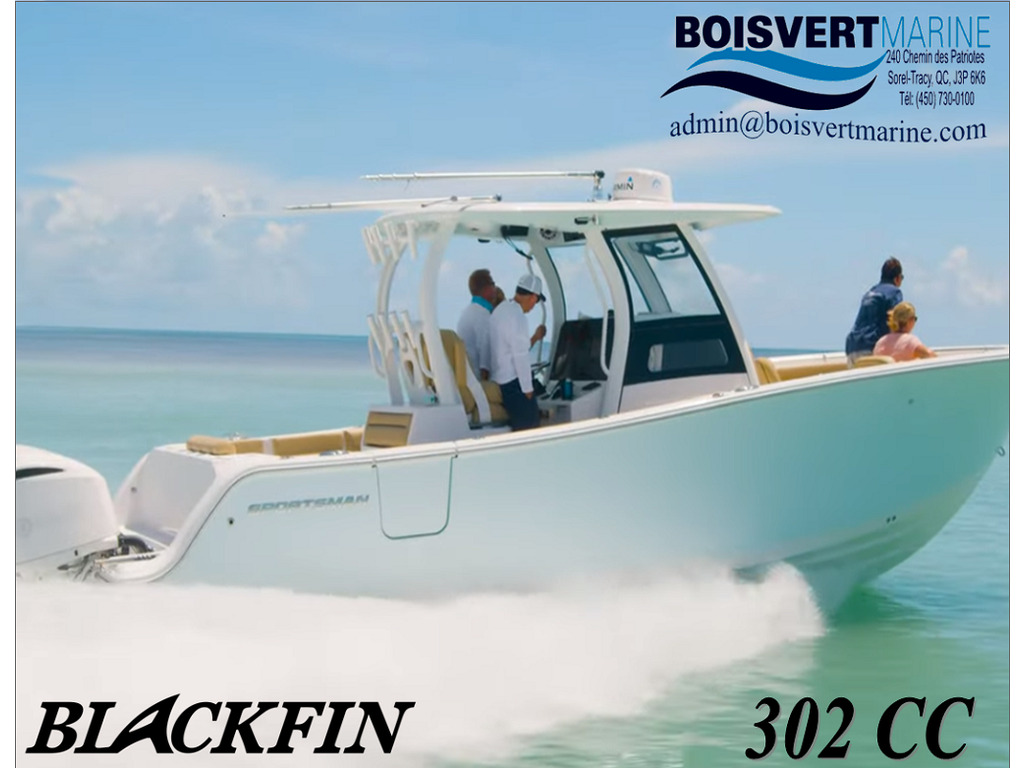 2021 Blackfin boat for sale, model of the boat is 302 Cc & Image # 1 of 12