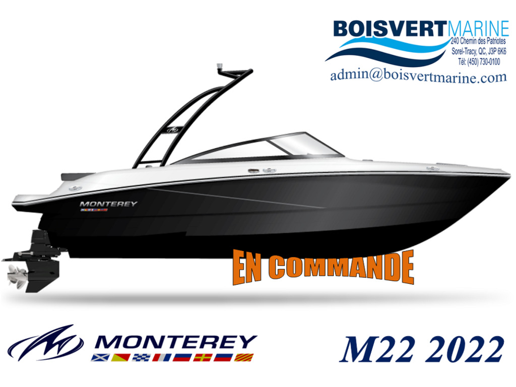 2022 Monterey boat for sale, model of the boat is M22  & Image # 2 of 3