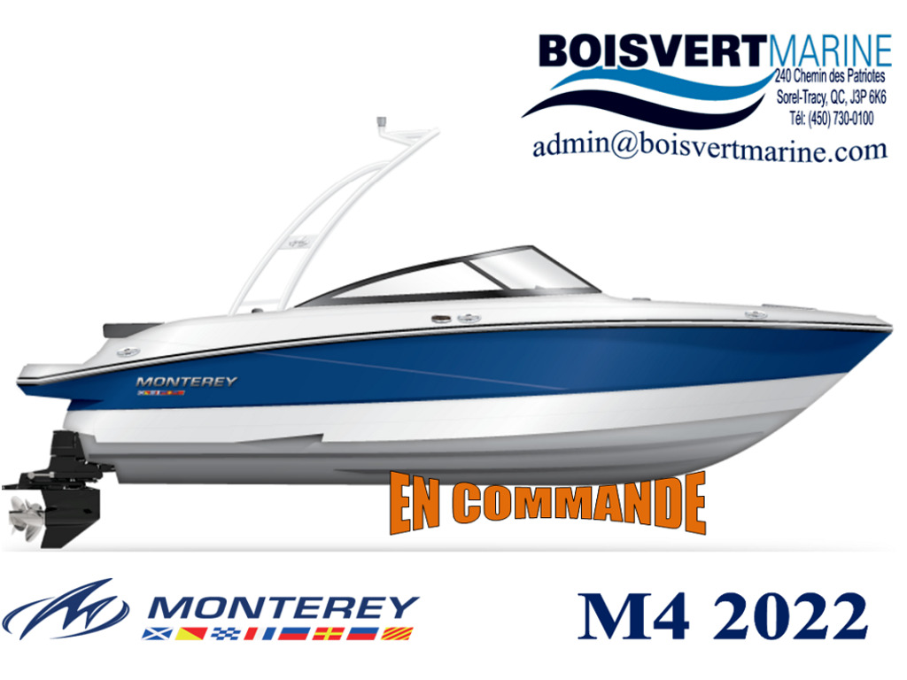 2022 Monterey boat for sale, model of the boat is M22  & Image # 3 of 3