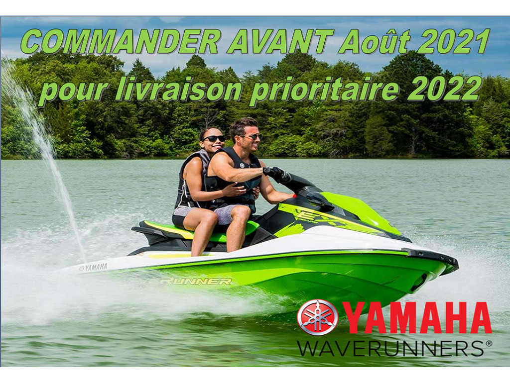2022 Yamaha boat for sale, model of the boat is Waverunner Ex Deluxe & Image # 1 of 7