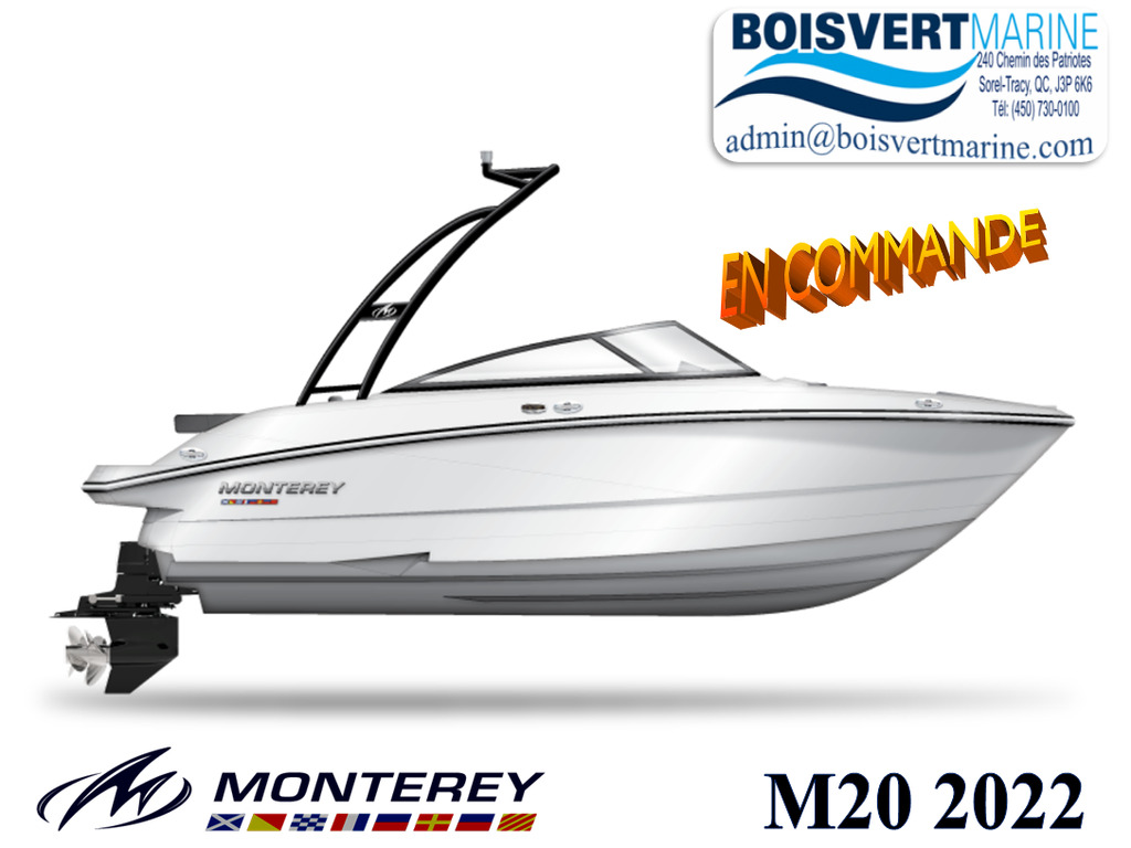 2022 Monterey boat for sale, model of the boat is M20 & Image # 1 of 2