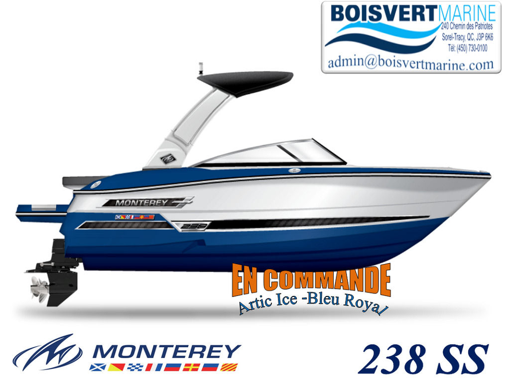 2022 Monterey boat for sale, model of the boat is 238 Ss & Image # 1 of 7