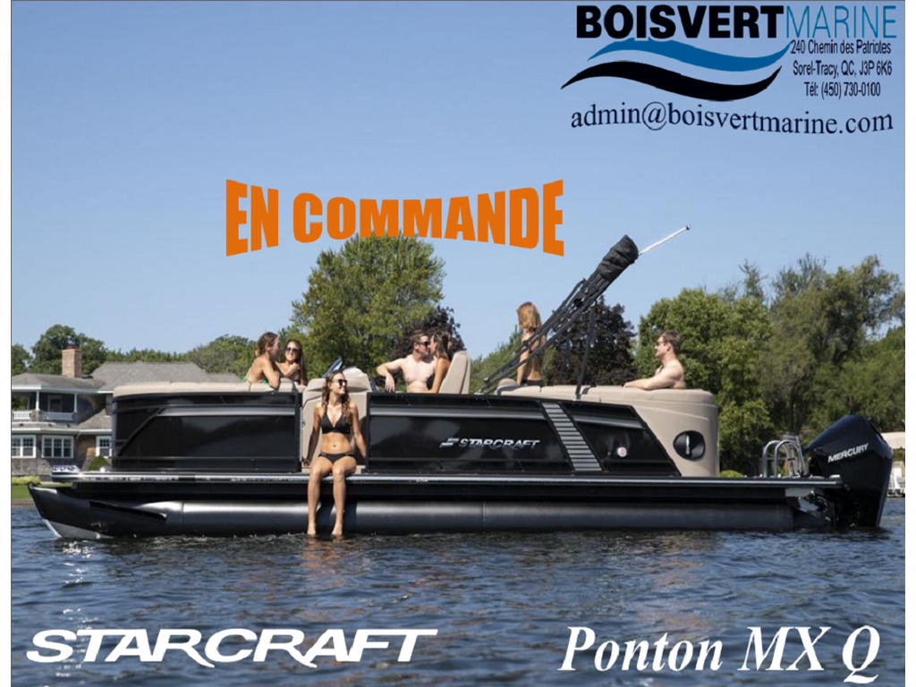 2022 Starcraft boat for sale, model of the boat is Mx 23 Q  & Image # 1 of 8