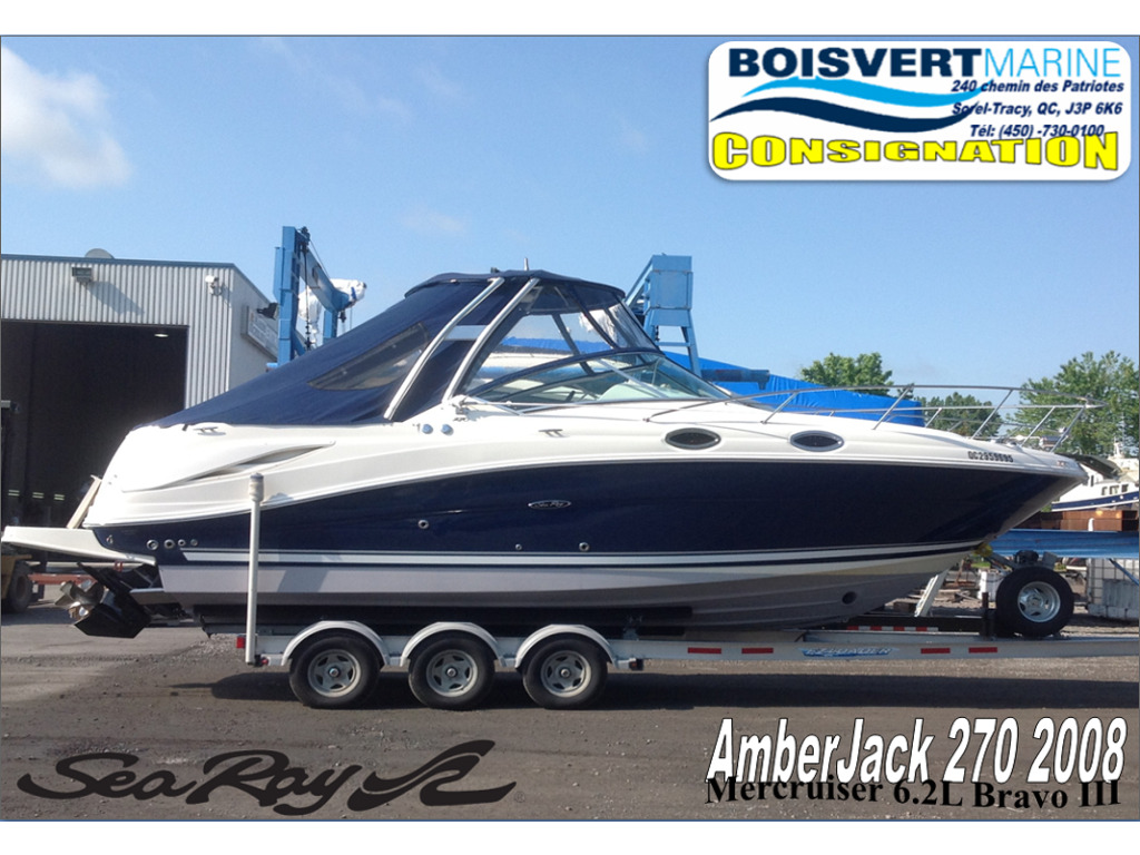 2008 Sea Ray boat for sale, model of the boat is Amberjack 270 & Image # 1 of 16