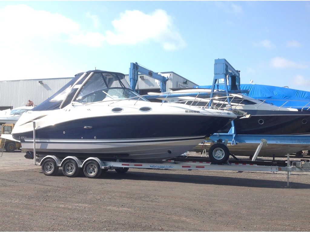 2008 Sea Ray boat for sale, model of the boat is Amberjack 270 & Image # 16 of 16