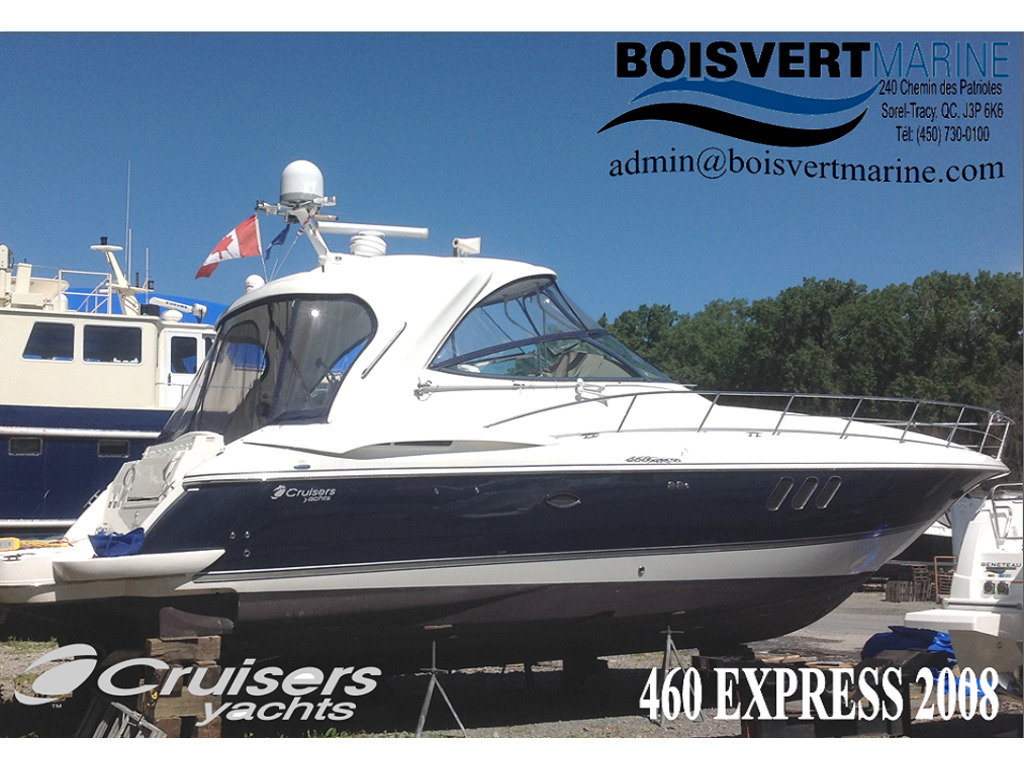 2008 CRUISERS YACHTS 460 EXPRESS HARD TOP for sale