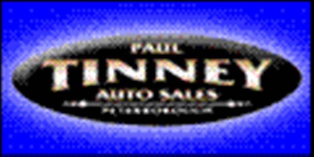 PAUL TINNEY AUTO SALES LTD.