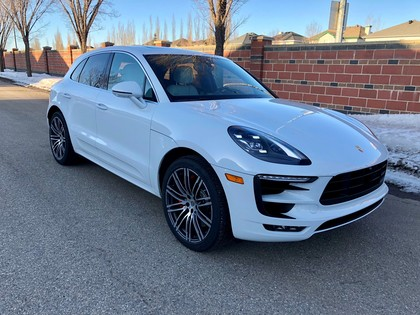 Sport Utility 2018 Porsche Macan Turbo Awd W Performance Pkg In Edmonton