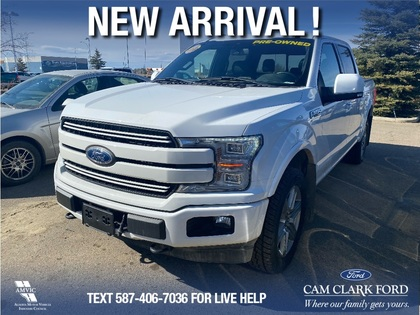 used 2018 Ford F-150 car, priced at $49,977
