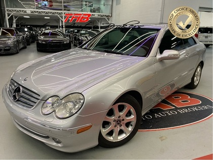 used 2003 Mercedes-Benz CLK320 car, priced at $11,910