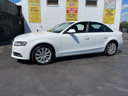 used 2012 Audi A4 car, priced at $9,988