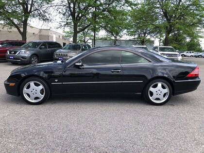 used 2004 Mercedes-Benz CL-Class car, priced at $17,999