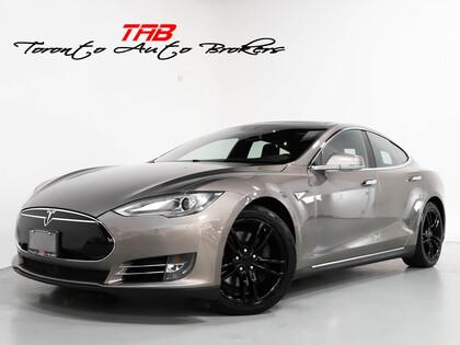 used 2015 Tesla Model S car, priced at $59,910
