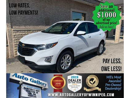 used 2020 Chevrolet Equinox car, priced at $29,892