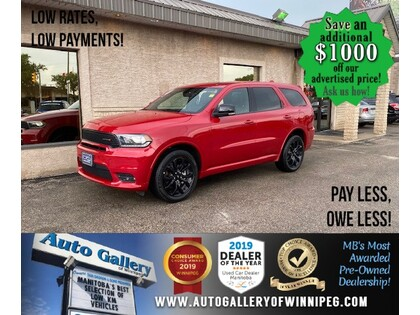 used 2020 Dodge Durango car, priced at $42,992