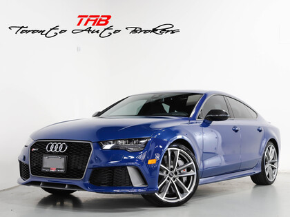 used 2016 Audi RS 7 car, priced at $69,910