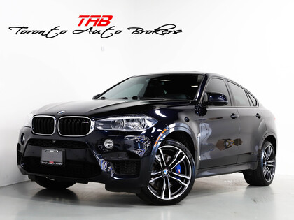 used 2017 BMW X6 M car, priced at $63,910