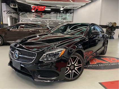 used 2017 Mercedes-Benz CLS-Class car, priced at $50,910