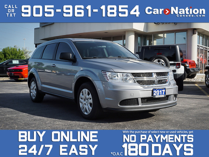 used 2017 Dodge Journey car, priced at $13,988