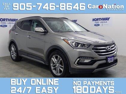 used 2018 Hyundai Santa Fe Sport car, priced at $23,888