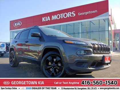 used 2018 Jeep Cherokee car, priced at $18,949