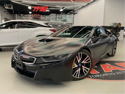 used 2017 BMW i8 car, priced at $93,910