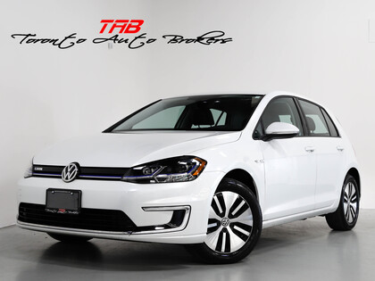 used 2017 Volkswagen e-Golf car, priced at $26,910
