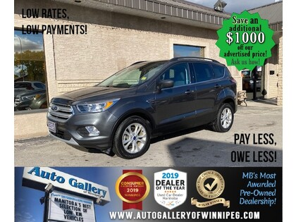 used 2018 Ford Escape car, priced at $23,888