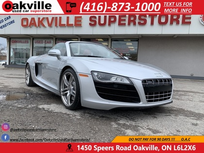 used 2012 Audi R8 car, priced at $104,950