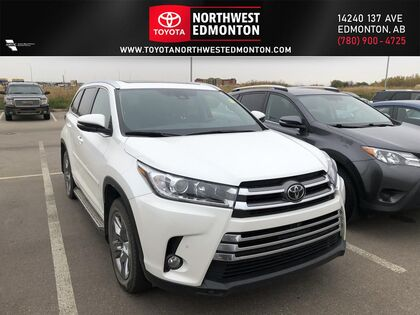 used 2017 Toyota Highlander car, priced at $38,649