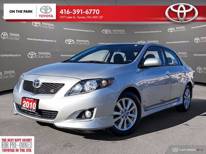 used 2010 Toyota Corolla car, priced at $10,990