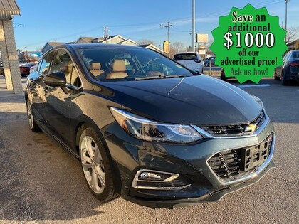 used 2017 Chevrolet Cruze car, priced at $17,997