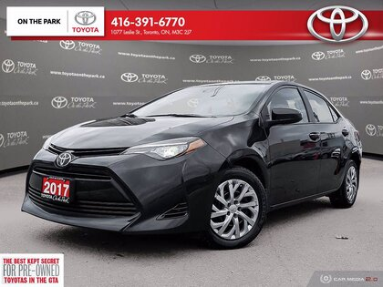 used 2017 Toyota Corolla car, priced at $15,995