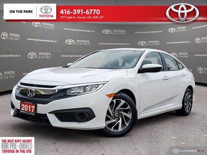 used 2017 Honda Civic Sedan car, priced at $16,995