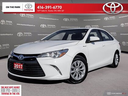 used 2017 Toyota Camry Hybrid car, priced at $13,900