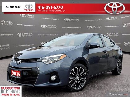 used 2016 Toyota Corolla car, priced at $16,695