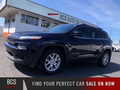 used 2014 Jeep Cherokee car, priced at $17,480