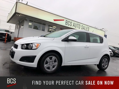 used 2016 Chevrolet Sonic car, priced at $13,980