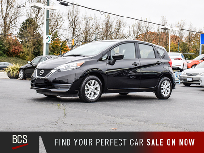 used 2019 Nissan Versa Note car, priced at $17,480