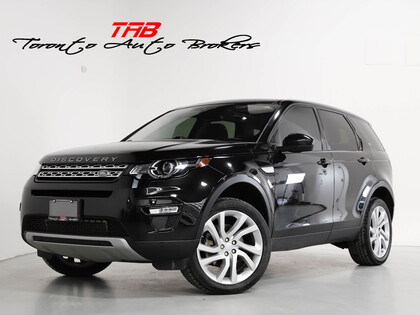 used 2017 Land Rover Discovery Sport car, priced at $25,910