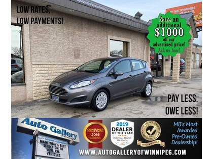 used 2014 Ford Fiesta car, priced at $8,997