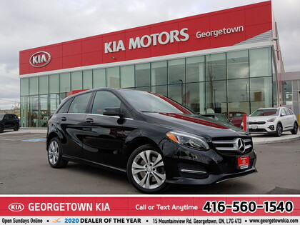 used 2017 Mercedes-Benz B-Class car, priced at $18,950
