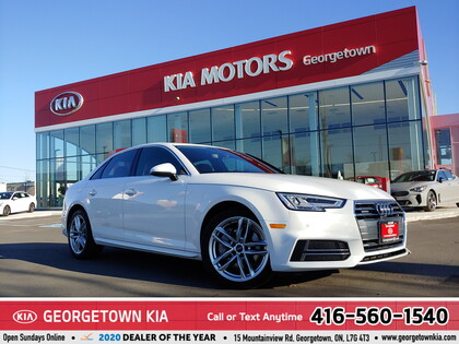 used 2018 Audi A4 car, priced at $29,950